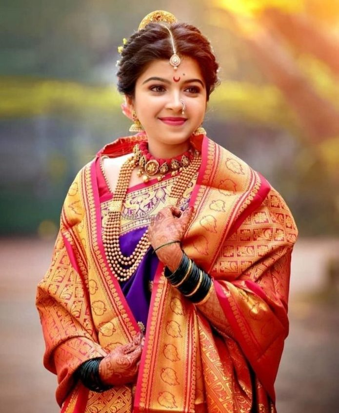 Traditional Jewellery ideas for Kolhapur Bride