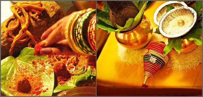 Pre wedding Rituals of Brahmin Vadhuvar